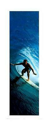 Surfing Riding the Tube Mini Poster 40cm x 50cm new and sealed