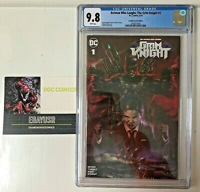Batman Who Laughs: The Grim Knight #1 CGC 9.8 Lucio Parrillo Variant DC Comics