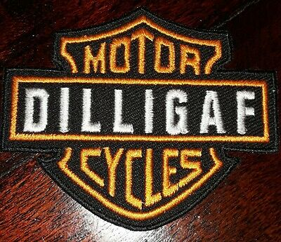 Sew On Patch for Motorbike Biker Triker Jacket #311 EMBROIDERED Iron #317