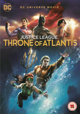Justice League: Throne of Atlantis DVD (2018) Ethan Spaulding  - FREE POST