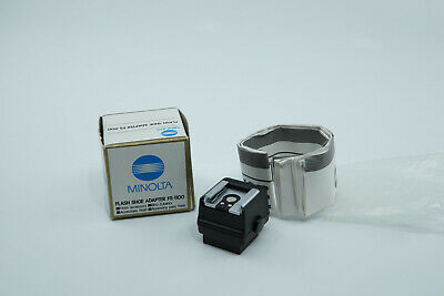 Minolta Flash Shoe Adapter FS-1100 - Boxed with Instructions
