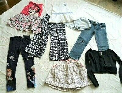 Lovely bundle of girls clothes, age 6-7 years. Next, Disney, Denim & Co.
