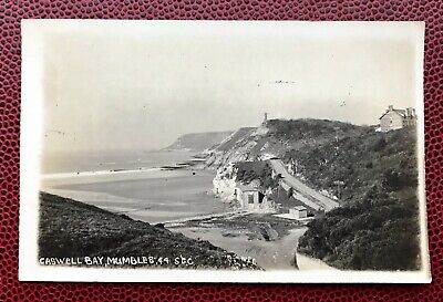 Caswell Bay Mumbles Swansea Wales Post  Card