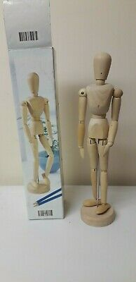 Boxed...artists Mannequin...wooden Mannequin...poseable..artist..drawing..wood
