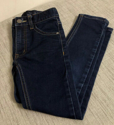 Next Boys Super Skinny Jeans Blue Denim Age 7 Years