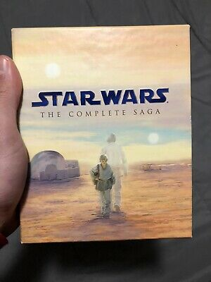 Star Wars The Complete Saga Blu-Ray Set