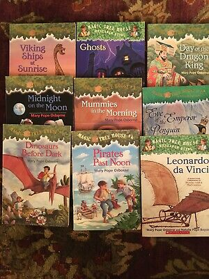 lot of 8+1  Pack Bundle/Lot Of Magic Tree House l Children's Chapters books