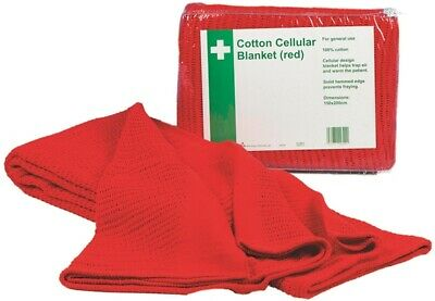 Hypaguard Red Cellular Blanket Q2024 Safety First Aid Genuine Quality Product