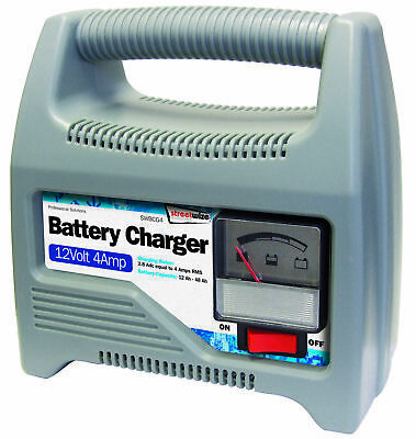 12v 4amp Battery Charger SWBCG4 Streetwize Genuine Top Quality Product New