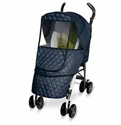 Manito Castle Alpha - NAVY - Stroller Weather Shield - SAME DAY SHIPPING