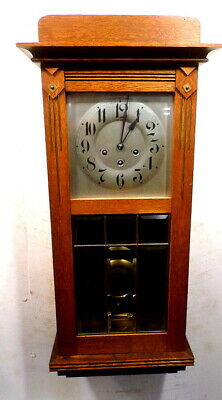 Westminister Chiming German Regulator 8 Day Wall Clock