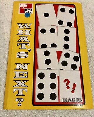 Vintage Magic Trick: What's Next by Tenyo T-28 Spots Move (About 1972) FREE SHIP