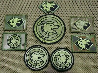 Rare Adf Sf Sotg C Coy 2 Cdo Patch ( 8 Patches ) Collection 2009 / 2014