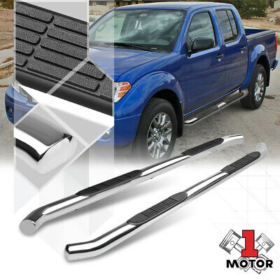 """Fit 05-19 NISSAN Frontier Crew Cab 5.5/"""" BLK Nerf Bar Running Board Side Step DW"""