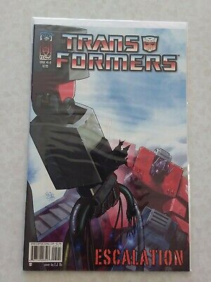 Transformers: Escalation # 5 - IDW Publishing 2006 (Cover A)