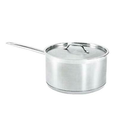 Winco  - SSSP-6 - 6 Qt Induction Ready Stainless Steel Sauce Pan
