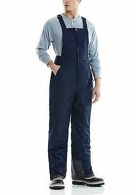 Tsla Men'S Snow Bib Windproof Ski Insulated Water-Repel Rip-Stop Overalls
