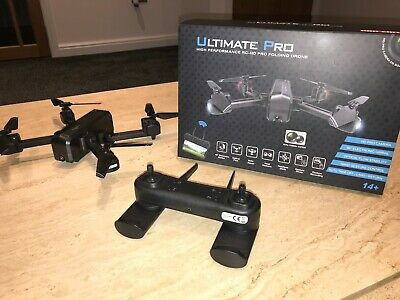 ULTIMATE PRO High Performance RC-HD Pro Folding DRONE (Quadcopter) Dual cameras