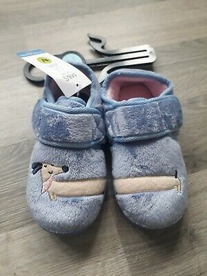 Girls Size 9 Slippers New With Tags Marks And Spencer