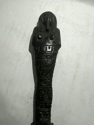 RARE ANCIENT EGYPTIAN ANTIQUE Shabti Ushabti 1630 Bc