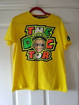 VR46 Valentino Rossi The Doctor Moto GP T Shirt Casual mens Top VRWTS 205501