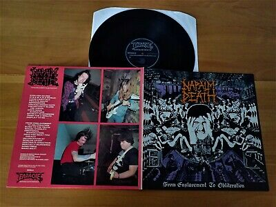 NAPALM DEATH - LP - From Enslavement to Obliteration - Carcass - Phobia - Nausea