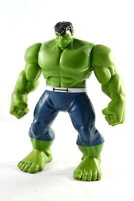 """Marvel Hulk Figure - Huge 9"""" Tall - Electronic With Noises And Voice Vgc!"""