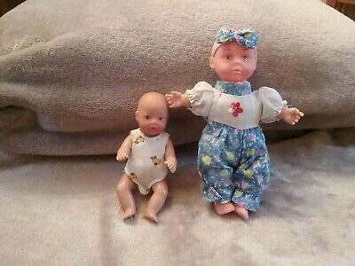 Zapf creation baby born mini doll plus one other
