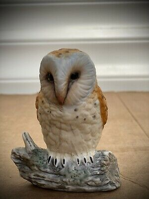The Leonardo Collection Porcelain Barn  Owl Ornament