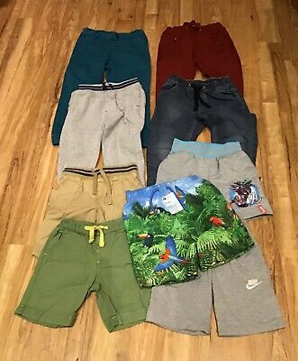 Large Bundle Boys Jeans, Joggers & Shorts - Mostly M&S & Mini Club - Age 3/4 yrs
