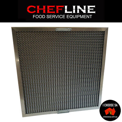 Canopy Grease Filter Commercial Honeycomb Range Hood Filter 495 x 495MM