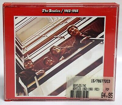 THE BEATLES 1962-1966 2-CD 1993 Red Box Remastered EMI Apple HOLLAND