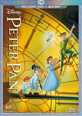 Peter Pan [Two-Disc Diamond Edition Blu-ray/DVD Combo in DVD Packaging]