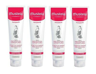 Mustela Stretch Marks Prevention Cream, 5.07 Oz (Pack of 4)