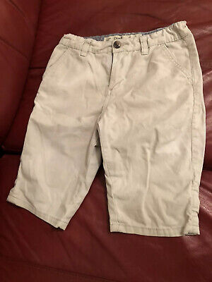 Boys Next Beige Chino Shorts Age 9-10