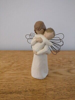 Willow Tree 'ANGEL'S EMBRACE' Figurine Demdaco 2002 Susan Lordi boxed