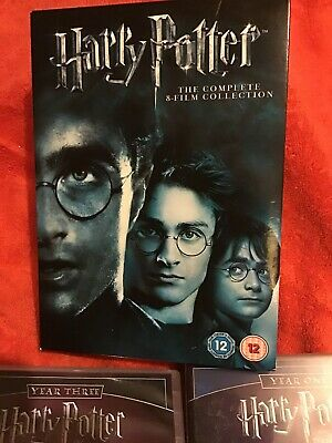 Harry Potter The Complete 8 Film DVD. Collection Box Set