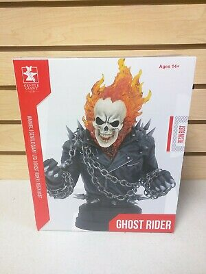 Ghost Rider 1/6 Scale Resin Bust Statue Diamond Select Toys Gentle Giant Marvel