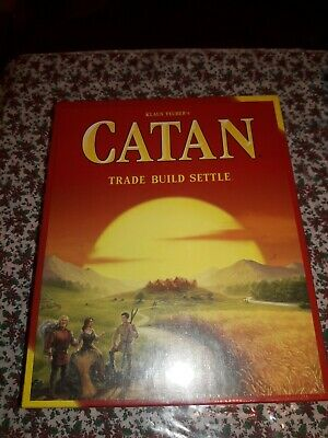 Klaus Teuber's - Catan - Trade Build Settle. CN3071. Standard Board Game. New.