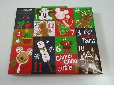 Disney Parks Christmas 2019 12 Days of Socks Advent Calender Adult One Size