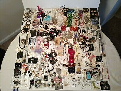 "Huge Estate Lot~6.1 Pounds! All Are Wearable New With Tag ""(175+++ Items)"