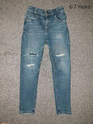 Boys Skinny Jeans Age 6-7 Years - Only tried on - Excellent Condition - George
