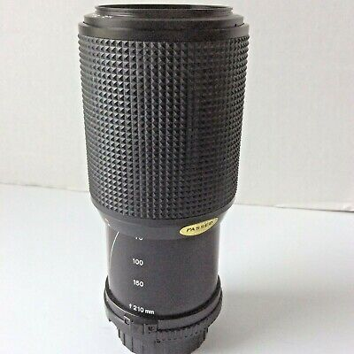 Minolta MD Zoom 70-210mm 1:4 Camera Lens Made in Japan Good Used Codition
