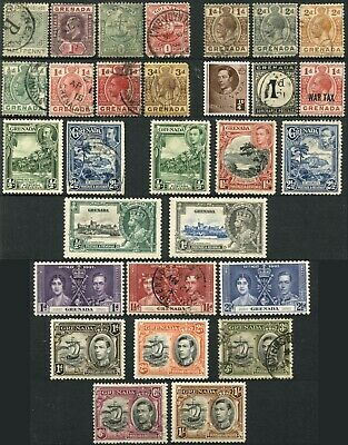 GRENADA Postage British Commonwealth Stamp Collection Used Mint LH