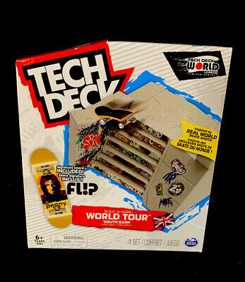 Tech Deck World Tour South Bank Park With Tom Penny Flip Board Exclusive Limited