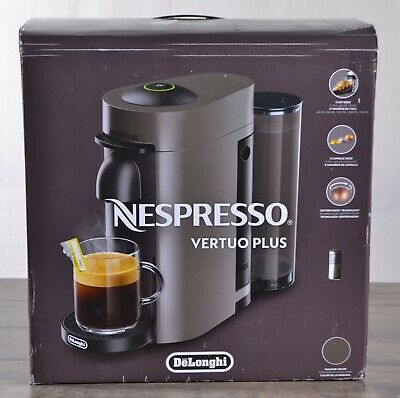 Nespresso Vertuoplus Coffee Espresso Machine Delonghi ENV150GY Sliver & Black