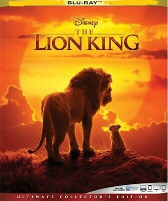 The Lion King (Blu-ray Disc, 2019) Never Viewed  NO CASE FAST SHIPPING