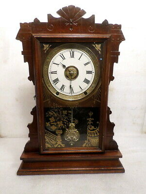 Very Unusual Seth Thomas Parlor Clock With Time & Alarm--Cleaned Movement