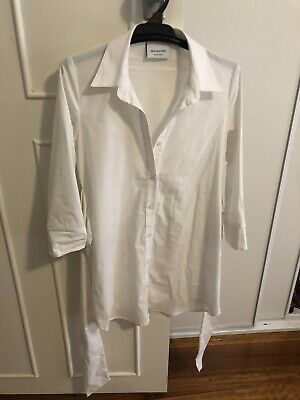pea in a pod maternity White Shirt - Size 6