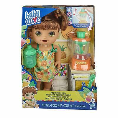 Baby Alive Magical Mixer Baby Doll Strawberry Shake with Blender and Accessories